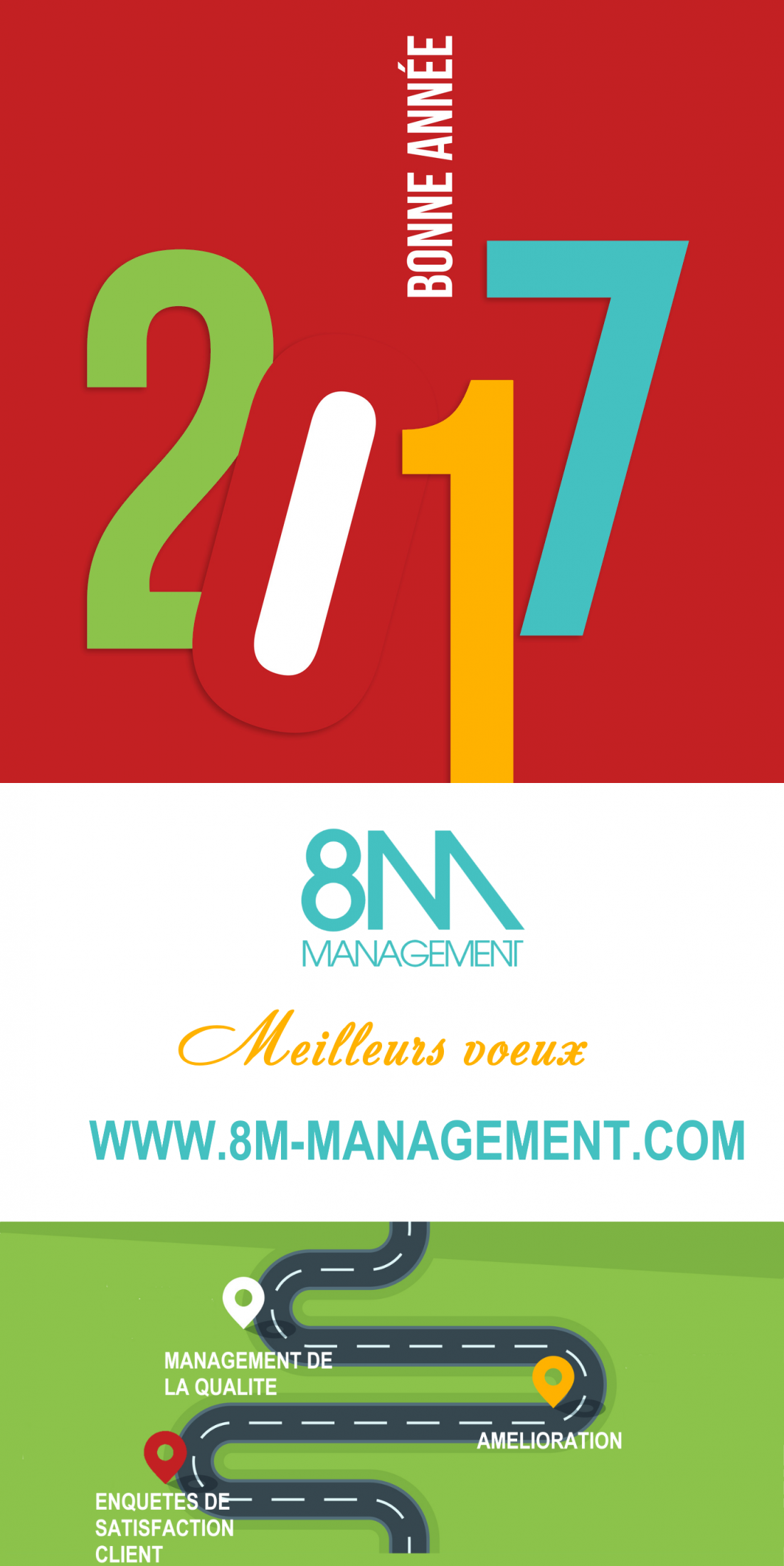 VOEUX 2017 8M Management