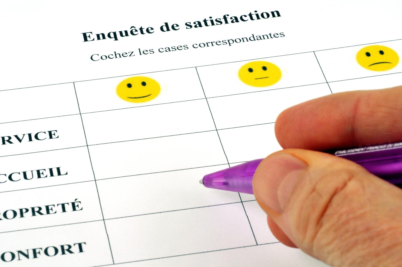Enquete satisfaction 8m management